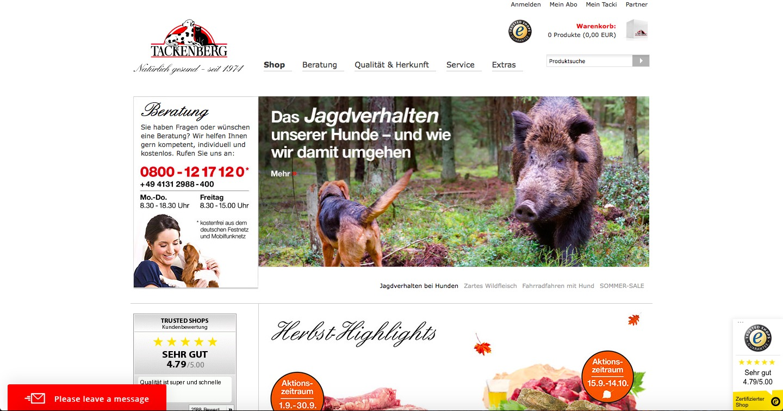 tackenberg homepage